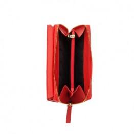 Дамско портмоне, PIERRE CARDIN, Червено/Черно