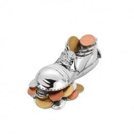 Статуетка Casa Interior, Обувка с монети