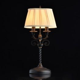 настолна лампа CHIARO Country от Ковано желязо