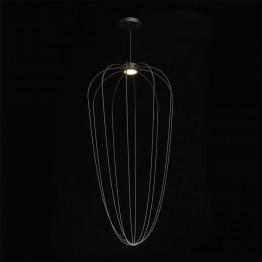 LED oсветително тяло REGENBOGEN, Серия Loft, Метал / Акрил, Цвят Черен / Бял / Хром