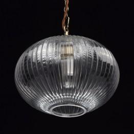 Пендел MW-Light Classic, Метал / Стъкло, Цвят Месинг / Прозрачен