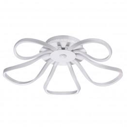 LED плафон De Markt, Серия Hi-Tech, Метал / Акрил / Алуминий, Цвят Бял