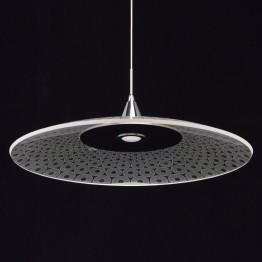 LED осветително тяло MW-LIGHT, Серия Megapolis, Акрил / Алуминий, Цвят Хром / Прозрачен