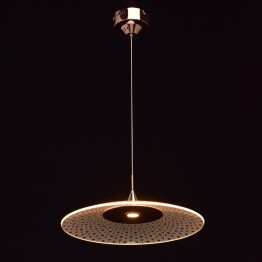 LED осветително тяло MW-LIGHT, Серия Megapolis, Акрил / Алуминий, Цвят Мед / Прозрачен