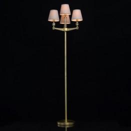 Лампион MW-Light, Серия Classic, Метал / Стъкло, Цвят Месинг / Сив / Прозрачен