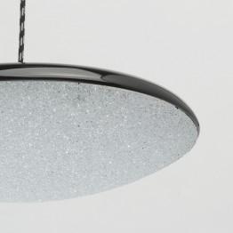 LED пендел De Markt, Серия Hi-Tech, Метал / Акрил, Цвят Черен