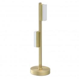 LED настолна лампа De Markt Hi-Tech, Акрил / Алуминий, Цвят Златист
