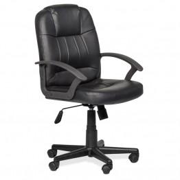 Офис стол Casa Interior 6080, Черен, Еко Кожа