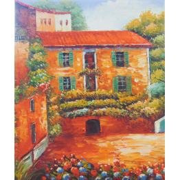 Картина Casa Interior, Къща, 50/60 см