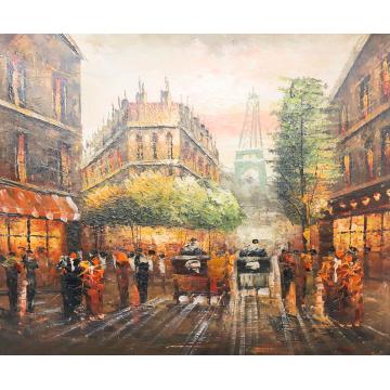 Картина Casa Interior, Градски пейзаж, 60/50 см